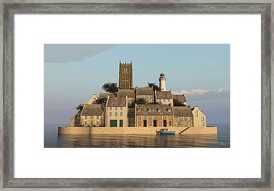 The Faraway Island Framed Print by Stephen Parkinson