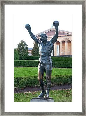 The Italian Stallion - Rocky Balboa Framed Print by Bill Cannon