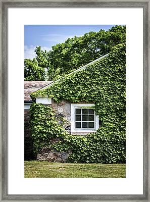 The Ivy House Framed Print by Kim Hojnacki