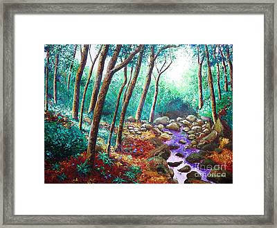 The Jade Vine Story Framed Print by Paul Hilario