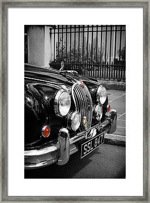 The Jaguar Framed Print by Mark Rogan