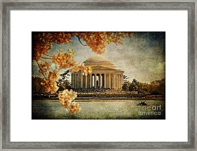 The Jefferson Memorial Framed Print by Lois Bryan