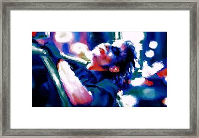The Joker 3c Framed Print by Brian Reaves