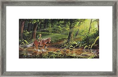 The Journey Begins Framed Print by Joe Mandrick