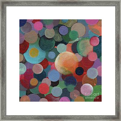 The Joy Of Design X L Part 2 Framed Print by Helena Tiainen
