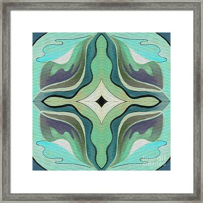 The Joy Of Design X X X I I Arrangement 1 Inverted Framed Print by Helena Tiainen