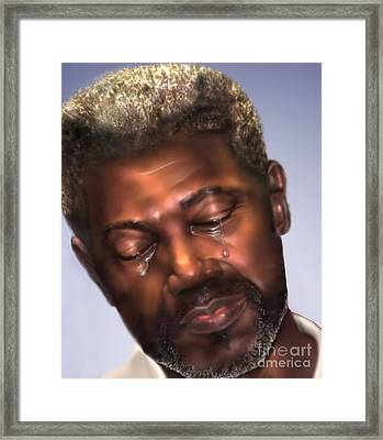 The Joy Of My Salvation 2 Framed Print by Reggie Duffie