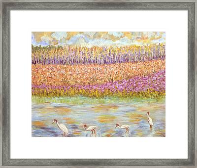 The Kaas Lake Framed Print by Thecla Correya