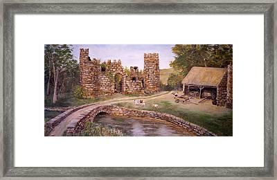 The Keep At Smithy Bridge Framed Print by Alan Lakin
