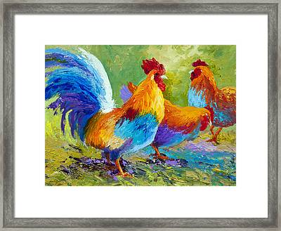The Keeper Framed Print by Marion Rose