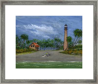 The Keeper's Friend Framed Print by Gordon Beck