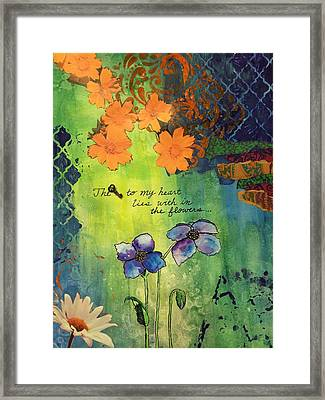 The Key  Framed Print by Dawn Neumeister