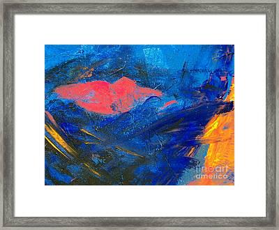 The Kiss Framed Print by Deborah Montana