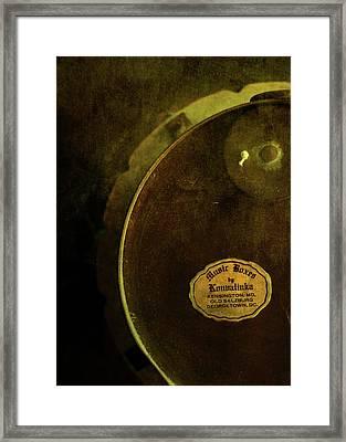 The Konvalinka Music Box Framed Print by Rebecca Sherman