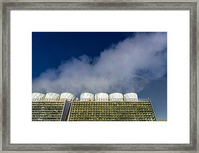 The Krafla Geothermal Power Station Framed Print by Panoramic Images