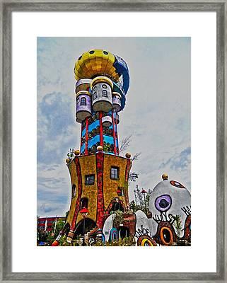 The Kuchlbauer Tower Framed Print by Juergen Weiss