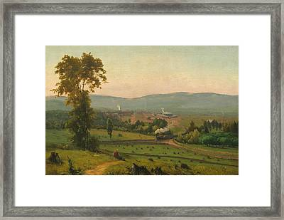 The Lackawanna Valley Framed Print by George Inness
