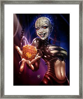 The Lament Configuration Framed Print by Pete Tapang