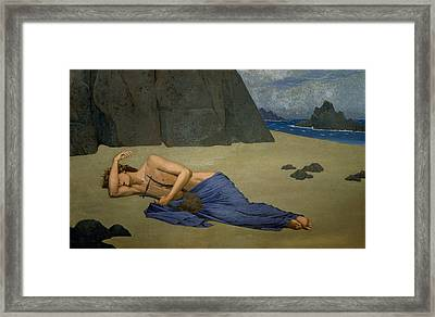 The Lamentation Of Orpheus Framed Print by Alexandre Seon