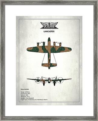 The Lancaster Framed Print by Mark Rogan