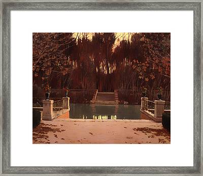 The Landing Stage Framed Print by Mountain Dreams