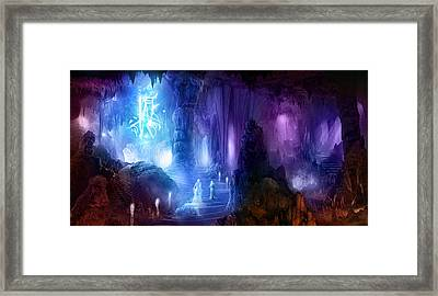 The Language Of Dreams Framed Print by Philip Straub