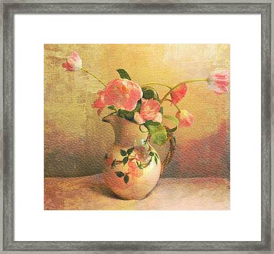 The Language Of Flowers Framed Print by Kathy Bucari