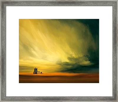 The Last Archive Framed Print by Lonnie Christopher