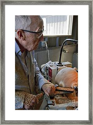 The Last Bowl Framed Print by Gary Holmes