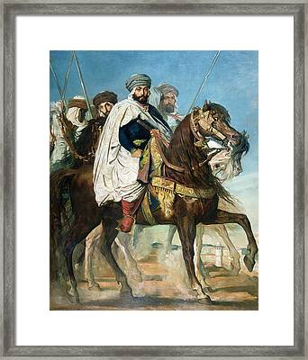 The Last Caliph Of Constantine Framed Print by Theodore Chasseriau
