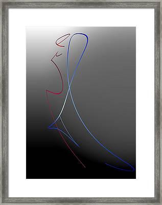 The Last Dance Framed Print by John Krakora