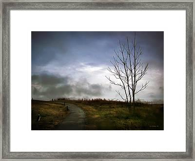 The Last Dawn Framed Print by Brian Wallace