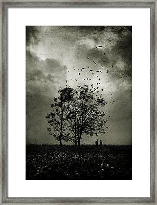 The Last Day Framed Print by Cambion Art