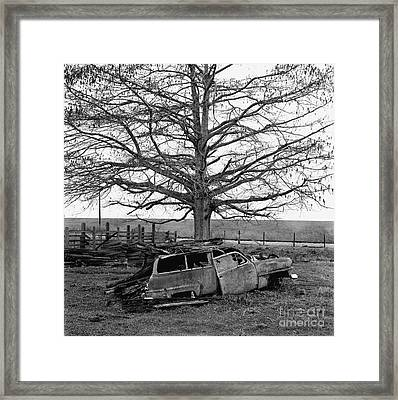 The Last Delivery Framed Print by Arni Katz