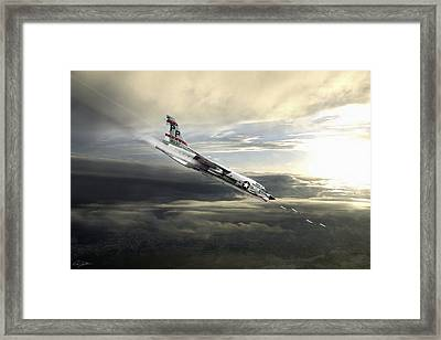 The Last Gunfighter Framed Print by Peter Chilelli