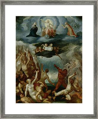The Last Judgement  Framed Print by Martin Pepyn
