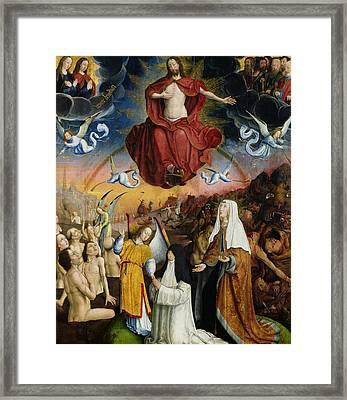 The Last Judgment Framed Print by Jean the Elder Bellegambe