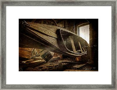 The Last Port Framed Print by Everet Regal