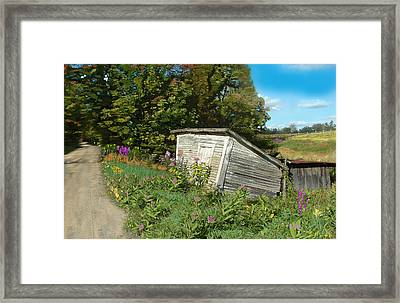 The Last Stand Framed Print by John Selmer Sr