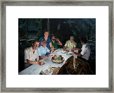 The Last Supper Framed Print by Dave Martsolf