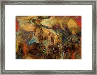 The Last Supper Framed Print by Linda Sannuti