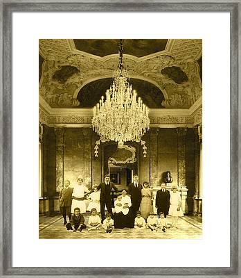 The Last Visit Framed Print by Roslyn Rose