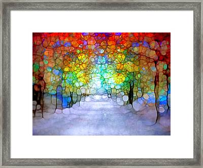 The Laughing Forest Framed Print by Tara Turner