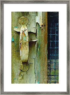 The Layers Of Yesterday Framed Print by Michael Eingle