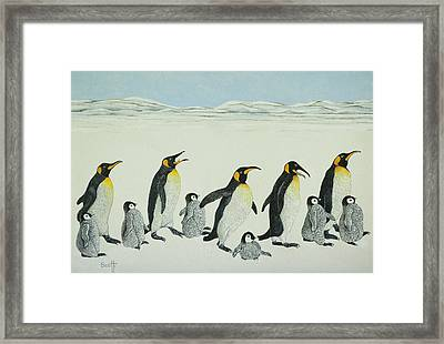 The Learning Curve Framed Print by Pat Scott
