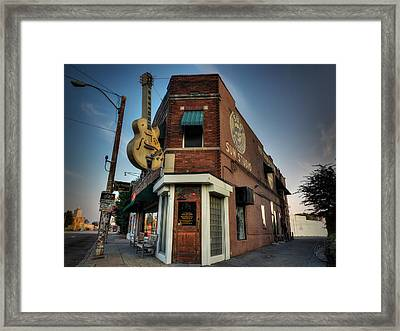 The Legendary Sun Studio 002 Framed Print by Lance Vaughn