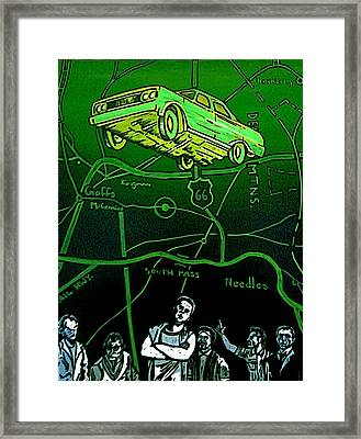 The Life Of A Repo Man Is Always Intense Framed Print by Jeff DOttavio
