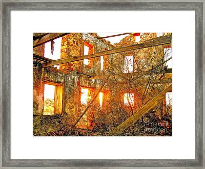 The Light Around The Body Framed Print by Chuck Taylor