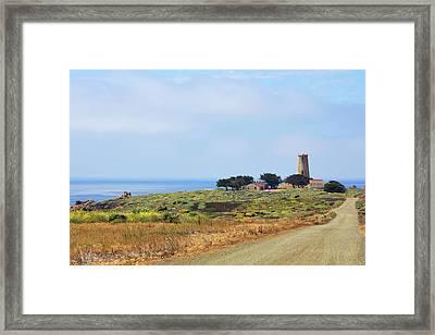 The Light At Piedras Blancas - San Simeon California Framed Print by Christine Till