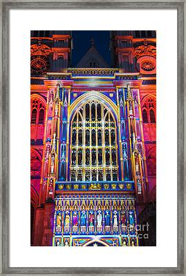 The Light Of The Spirit Westminster Abbey London Framed Print by Tim Gainey